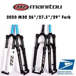 2021 Manitou M30 Markhor 26 27.5 29 Air Suspension Fork Manual Remote MTB