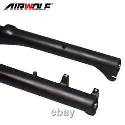 204.0 Fat Bike Air Suspension Fork 130mm Snow Beach MTB Bicycle Forks 1359mm