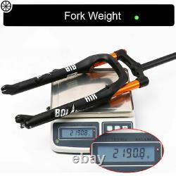 264.0 Fat Bike Suspension Fork 135mm Snow Beach MTB Bicycle Air Forks 1-1/8