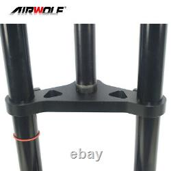 26er4.0 Full Air Suspension Fat Bike Fork Snow Sand Beach MTB Bicycle Forks