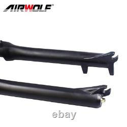 Airwolf 29er Air Suspension Fork MTB 130mm Travel 1009mm Bike Forks 1-1/8