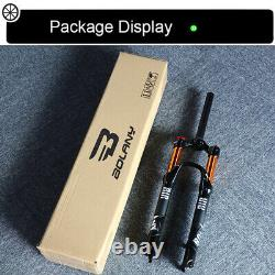 BOLANY 26/27.5/29 MTB Bike Suspension Air Fork 1-1/8 Mechanical Forks Tapared