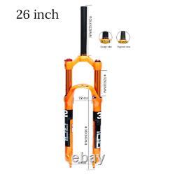 BOLANY MTB Bike Fork 26 27.5 29er 32 HL RL100mm Magnesium Alloy Air Suspension