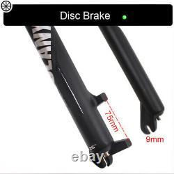 BOLANY Suspension Fat Fork 264.0 Air Shock 120mm MTB Beach Bike Forks 1-1/8