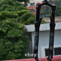 Bike Fork MTB Mountain Bicycle Light Weight Air Suspension Fork 26 / 27.5 /29