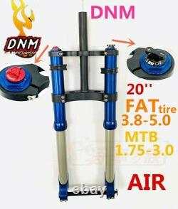 DNM Fat Snow 20 3.0 4.0 5.0 Ebike Electric bicycle Air Fork 1-1/8150 Three