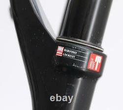 DT SWISS XRM 100 26 MTB Bike Air Suspension Fork Tapered 202mm New Blemished