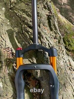 Fat Tyre Fork Mountain Bike Suspension 26 Inch Air Bike Black Tire