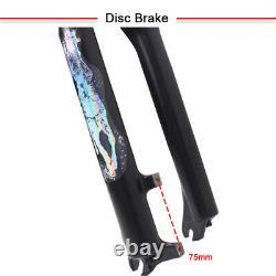 KRSEC 120mm Travel Ssupension Fork 26/27.5/29 9mm QR MTB Bike Air Fork 1-1/8