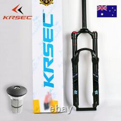 KRSEC 26/27.5/29 Suspension Fork 9mm QR Air Shock MTB Mountain Bike Fork 28.6mm