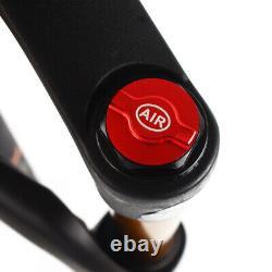 KRSEC 264.0 Fat Bike Air Suspension Fork 120mm Snow Beach MTB Bicycle Forks