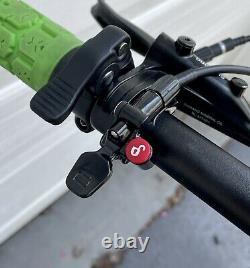 LPXX 29er Mountain Bike MTB Air Fork with Remote Lockout Rebound Adjustment 100mm