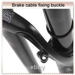 LUTU 26/27.5/29 MTB Bike Suspension Fork Air Shock Racing Forks Rebound Adjust