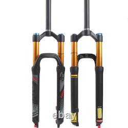 LUTU Suspension Fork 26/27.5/29 Air Shock Rebound Adjust 9mm QR MTB Bike Forks