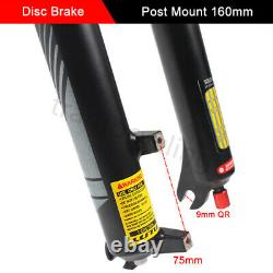 LUTU Suspension Fork 26/27.5/29 Rebound Disc Brake Magnesium MTB Bike Air Forks