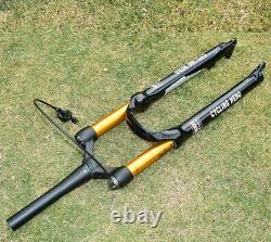 MTB Air Suspension Fork 32MM 120MM Travel 9x100mm QR Mountain Bike Front Fork