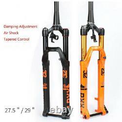 MTB Mountain Bicycle Air Fork 27.5 /29er MTB Bike Suspension Fork Axle 15100mm
