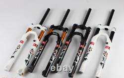 MTB Road Bike Bicycle Manual Front Forks Air Shock Suspension Fork 26/27.5/29