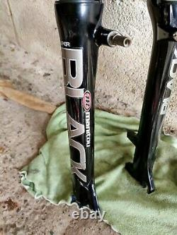 Manitou Black Super Air 100mm Suspension Forks