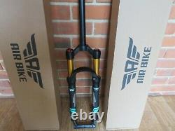 Mountain Bike Air Fork XC32A Suspension 26 inch Black 100mm Travel Rebound