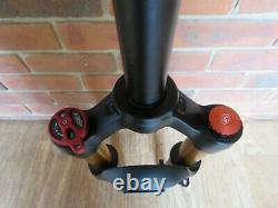 Mountain Bike Fork XC32A Air Suspension 26 inch Black 120mm Travel Rebound