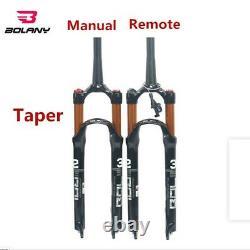 New 26 27.5 29 Air Suspension Fork MTB Mountain Bike 100mm 1-1/8Threadless x1