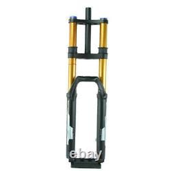 New Arrival 27.5 Downhill DH Double Shoulder Air Fork 11015mm Boost Black