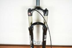 Rock Shox Reba SL, Dual Air, 100mm travel, QR, 210mm 1-1/8 Steerer 26 Wheels