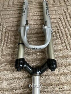 Rock Shox SID RACE Grey- 26 Dual Air Fork In Mint Uncut Steerer 1 1/8