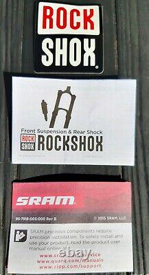 RockShox RL MTB Forks RECON Solo Air 27.5 130mm 110x15mm BOOST with Maxle