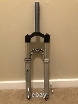 RockShox Reba Race Fork 26 100mm Dual Air Straight Steerer QR 1 1/8 XC Mtb
