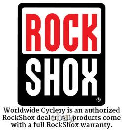 RockShox Recon Silver TK Fork 26 100mm Solo Air 9mm QR 1-1/8 Post & Disc Brake