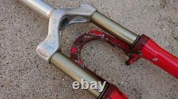 Rockshox Sid SL Dual air Suspension Forks Fork 1 1/8 26 wheel Bike Red