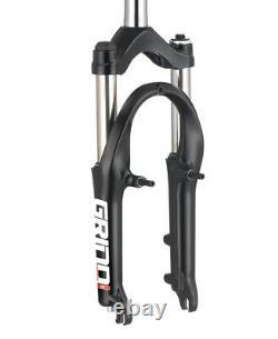Spinner Grind 20 AIR MTB Suspension Fork (remote lockout system) BLACK