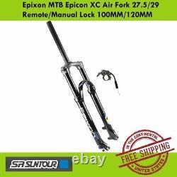 Suntour Epixon XC Air Fork 27.5/29 with Remote Lock 100MM/120MM