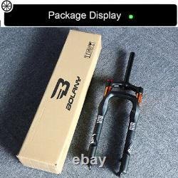 US BOLANY Fat Bike Air Suspension Fork 264.0 Tire Beach Snow Bike Forks Disc