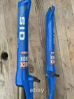 Vintage Rock Shox SID Long Travel Dual Air Fork Shock 1 Disc Rim Brake 26 RARE